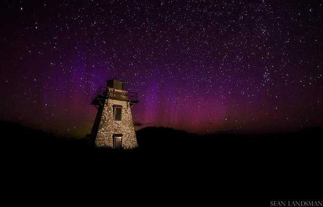 Night Colors Charlottetown, Prince Edward Island Canada