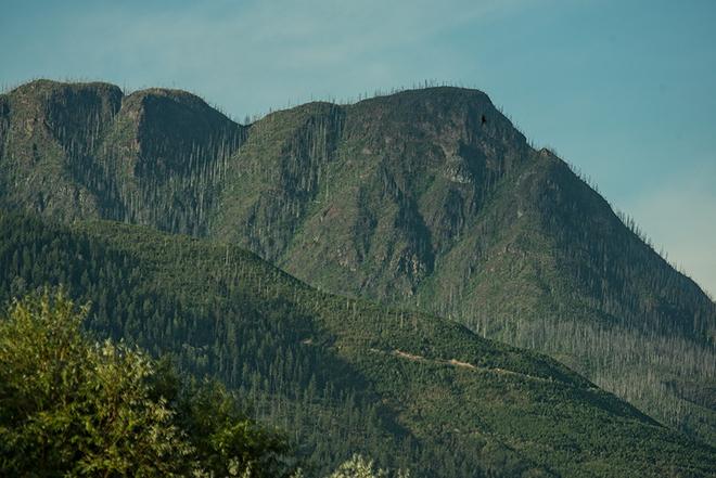 Mount Ida Salmon Arm, British Columbia Canada