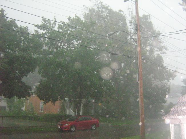 thunder storm Ottawa, Ontario Canada