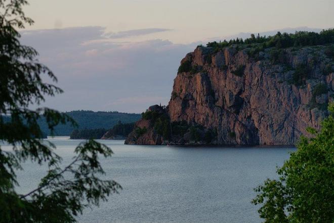 Roosters Rock Elliot Lake, Ontario Canada