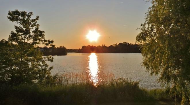 Early Evening at Jones Lake Moncton, New Brunswick Canada