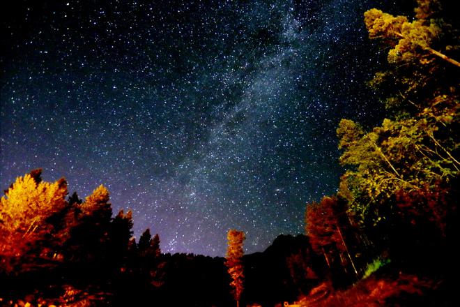 Galaxies Invermere, British Columbia Canada