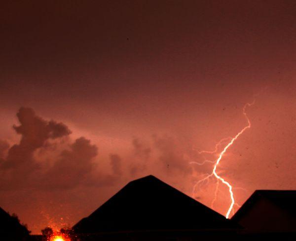 Thunderstorm Oakville, Ontario Canada