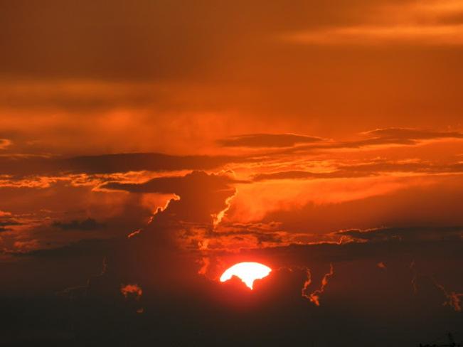 Sunset After Storm Toronto, Ontario Canada