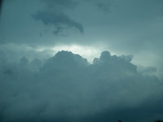 rain clouds Moncton, New Brunswick Canada