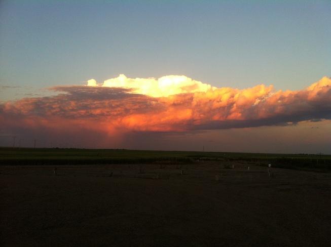 Prairie Sunset Climax, Saskatchewan Canada