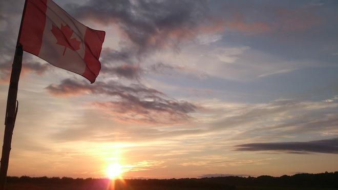 Super Sunday Sunrise...O Wolfville, O Canada! Wolfville, Nova Scotia Canada