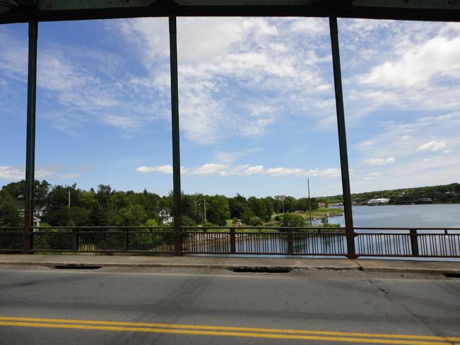 Keltic Drive Bridge on Cool and Breezy Day Sydney, Nova Scotia Canada