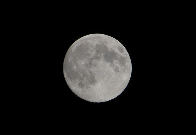 Full Moon Orleans, Ontario Canada