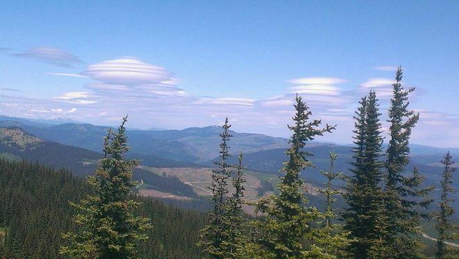 Amazing Clouds Tulameen, British Columbia Canada