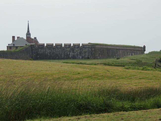 Fortress Louisburg July 16th 2013 Cape Breton, Nova Scotia Canada