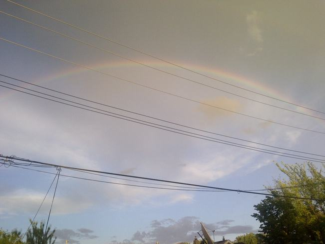 rainbow Winnipeg, Manitoba Canada