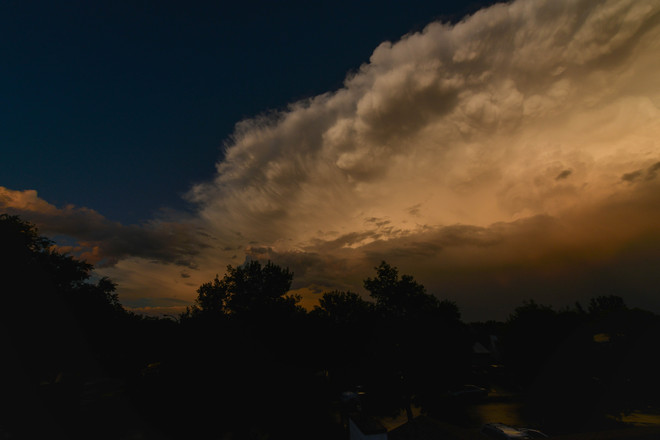 Storm Clouds Regina, Saskatchewan Canada