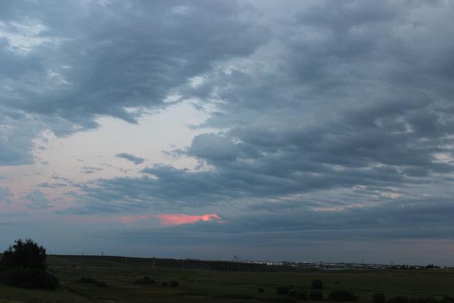 Evening clouds over Calgary (1) Calgary, Alberta Canada