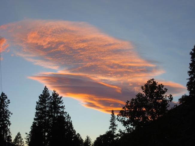Beautiful Clouds Penticton, British Columbia Canada
