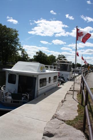 At the Fenelon Falls Locks Fenelon Falls, Ontario Canada
