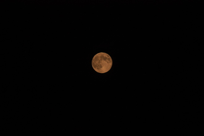 moon ovr Queen Square Saint John, New Brunswick Canada