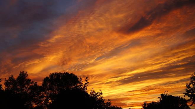 sunset Cornwall, Ontario Canada
