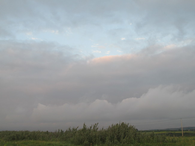 Sky Changing Calgary, Alberta Canada