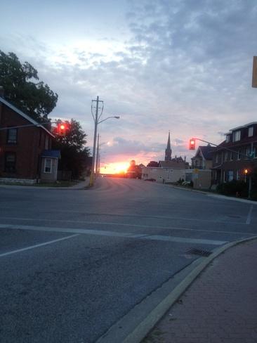 morning Orillia, Ontario Canada
