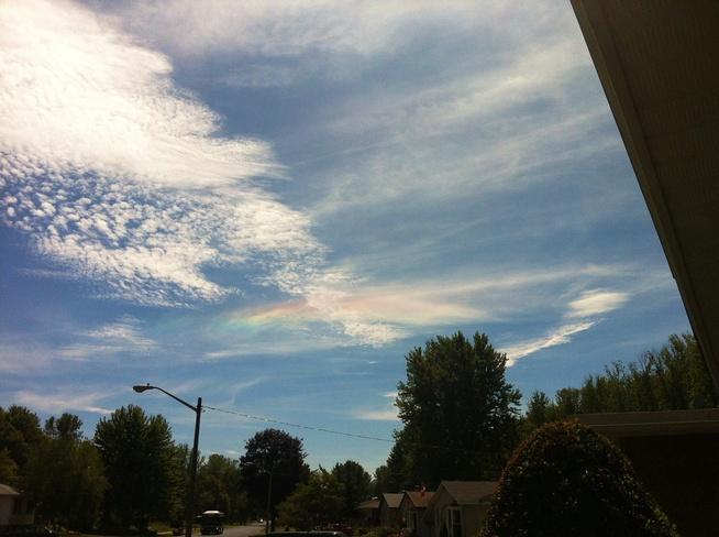 clouds Cornwall, Ontario Canada