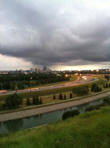 skyline Calgary, Alberta Canada
