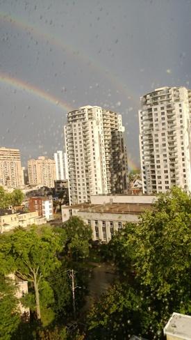 Double Rainbow London, Ontario Canada