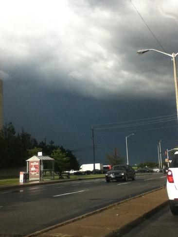yesterdays storm skys Ottawa, Ontario Canada