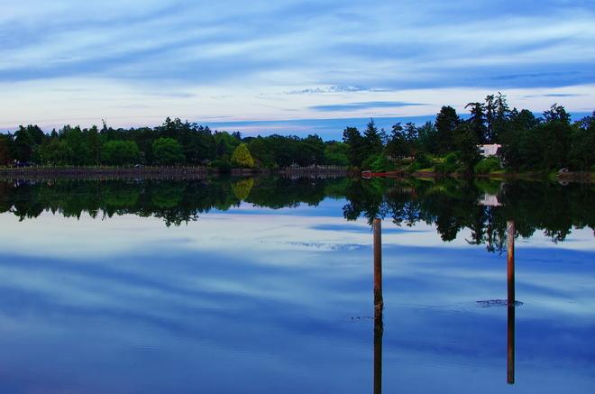 calm View Royal, British Columbia Canada