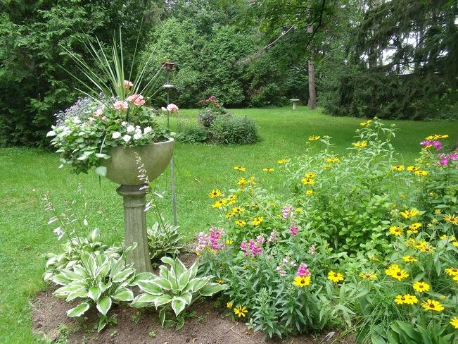 My Mother's Beautiful Garden Ancaster, Ontario Canada