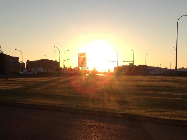 beautiful morning Lethbridge, Alberta Canada