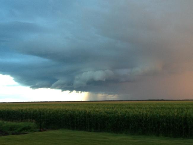 storm coming in!! La Salle, Manitoba Canada