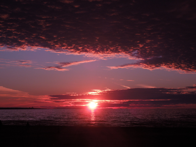 Beach Sunset 1 Wasaga Beach, Ontario Canada