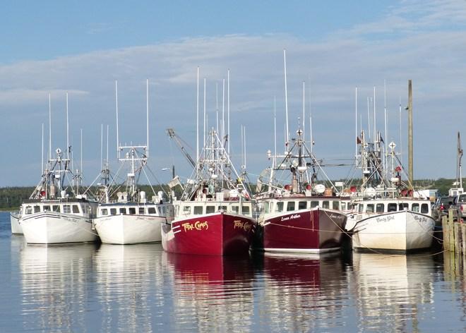 Dennis Point Wharf Yarmouth, Nova Scotia Canada