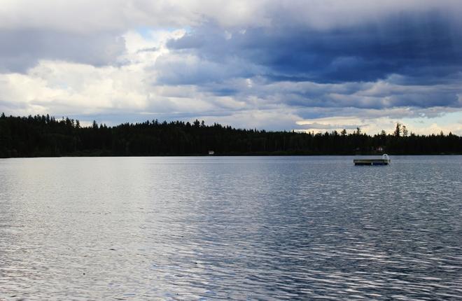 Lesser Fish Lake Delta, British Columbia Canada
