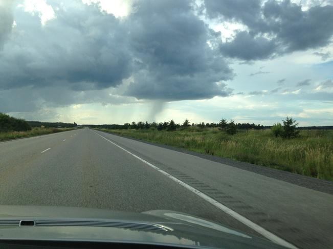 interesting sky Arnprior, Ontario Canada