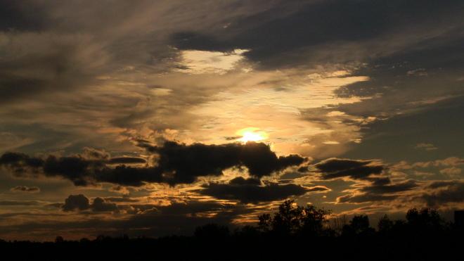 sunset at Flamboro Speedway Flamborough, Ontario Canada