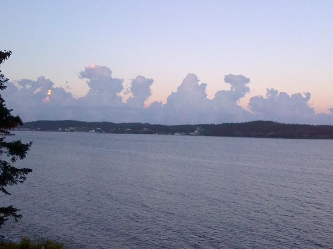 Thunderstorm warning! Louisbourg, Nova Scotia Canada
