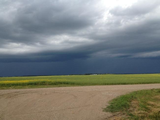storm brewing! Kelvington, Saskatchewan Canada