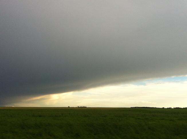 clouds Wymark, Saskatchewan Canada