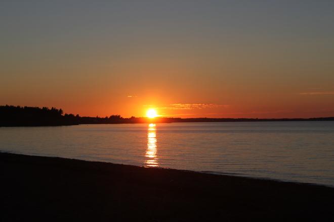 sunset Pugwash, Nova Scotia Canada