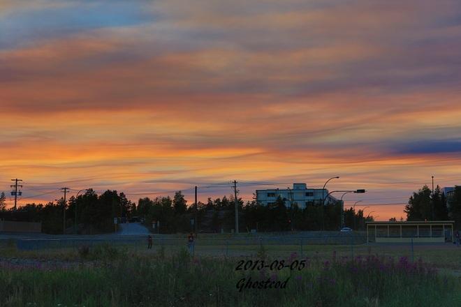 Great day Yellowknife, Northwest Territories Canada