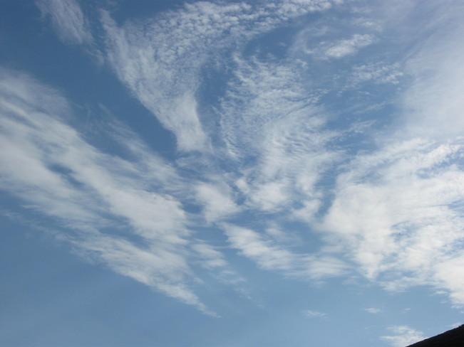 sky shapes Surrey, British Columbia Canada
