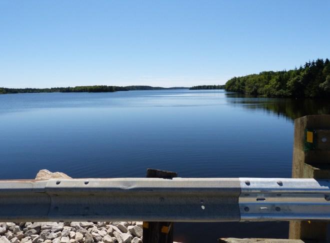 Eel Lake Yarmouth, Nova Scotia Canada