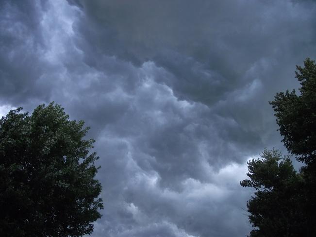 Ominous Clouds Merlin, Ontario Canada