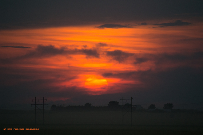 Sunset 16AUG2013 Regina, Saskatchewan Canada