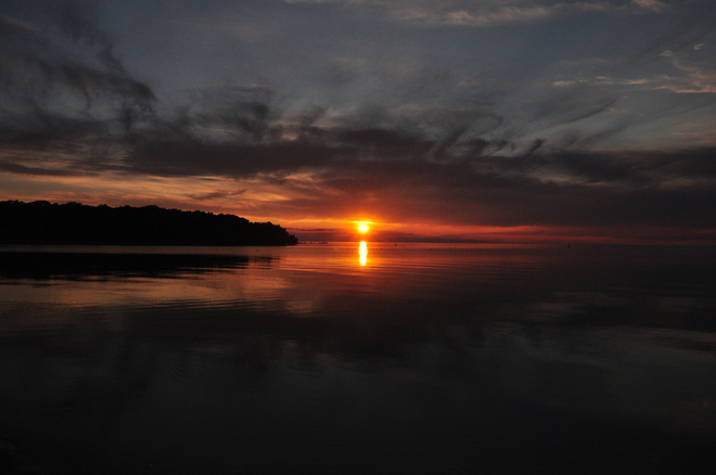 Grand Sunset Grand Beach, Manitoba Canada