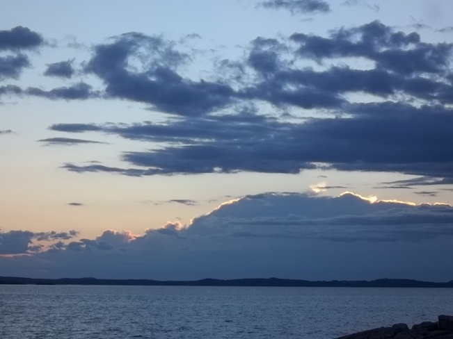 Horizon Clouds Birchy Bay, Newfoundland and Labrador Canada