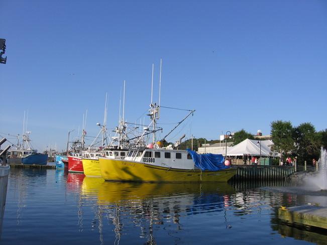 Yarmouth Fishing Boats Yarmouth, Nova Scotia Canada