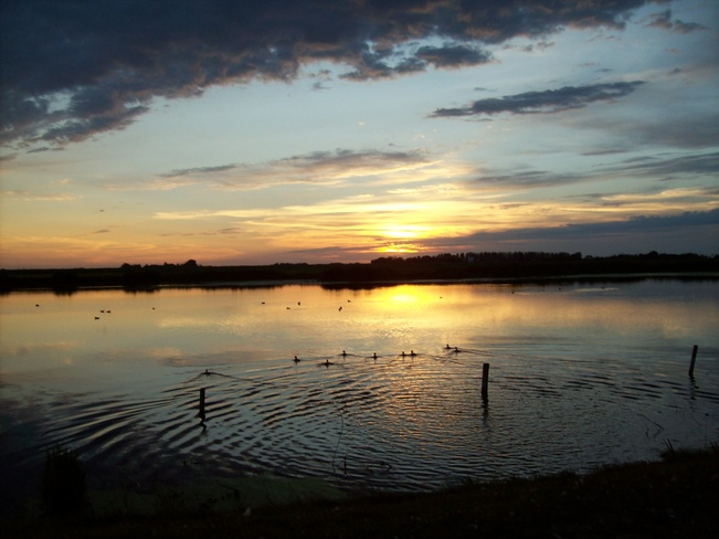 sunset Yorkton, Saskatchewan Canada